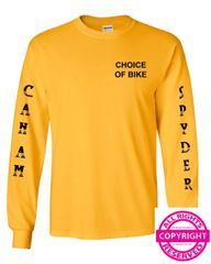 Can Am Spyder - Sleeve Design - Long Sleeve & Fleece
