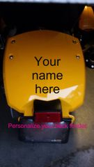Can Am Spyder Vehicle Decal Sticker - Personalize your Fender