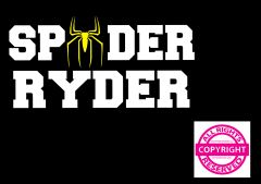 Can Am Spyder Vehicle Decal Sticker - Spyder Ryder with Spider