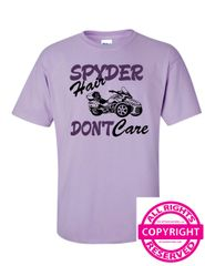 Can Am Spyder - Spyder Hair Don't Care - Short Sleeve