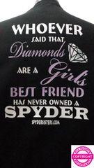Can Am Spyder - Diamonds are a Girls Best Friend - short sleeve