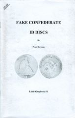 FAKE CONFEDERATE ID DISCS - sold out!