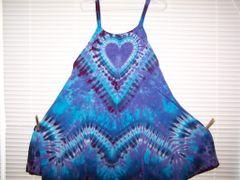 Heart Super Vee Short Dress