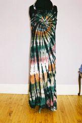 Earthtone Spiral Dress