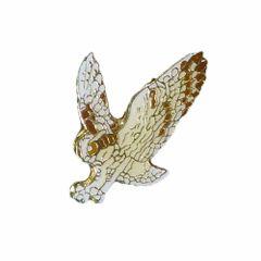 OWL WILDLIFE ANIMAL METAL LAPEL PIN BADGE .. NEW