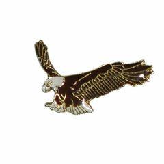 EAGLE WILDLIFE ANIMAL METAL LAPEL PIN BADGE .. NEW