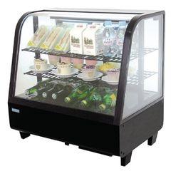 Polar Chilled Food Display 100Ltr Black CC611
