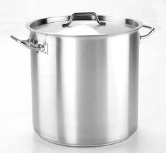 "Stock Pot with Lid 36cm/14"" 36.6L"