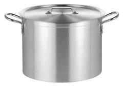 "Heavy Duty Boiling Pots with Lid 45cm/18"" 49L"