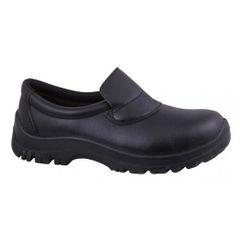 Safety Slip Ons Black 6