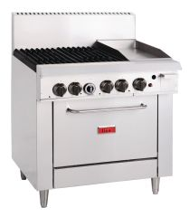 Thor 4 Burner LPG Oven Range and 305mm Grill GL174-P
