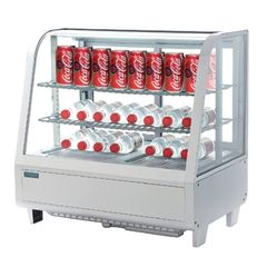 Polar Chilled Food Display 100Ltr White CC666