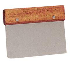 Dough Cutter/Scraper Wood Handle