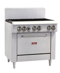 Thor 6 Burner Natural Gas Oven Range GL173-N