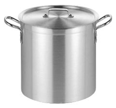 "Stock Pot with Lid 32cm/13"" 26L"