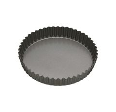 """Master Class Non-Stick Fluted Loose Base Quiche Tin Round 20cm 8"""" Sleeved"""