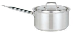 """Stainless Steel Saucepan with Lid 18cm/7"""" 2.6L"""