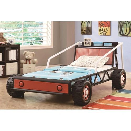 Novelty Beds Twin Size Youth Race Car Bed La Hacienda Furniture Store