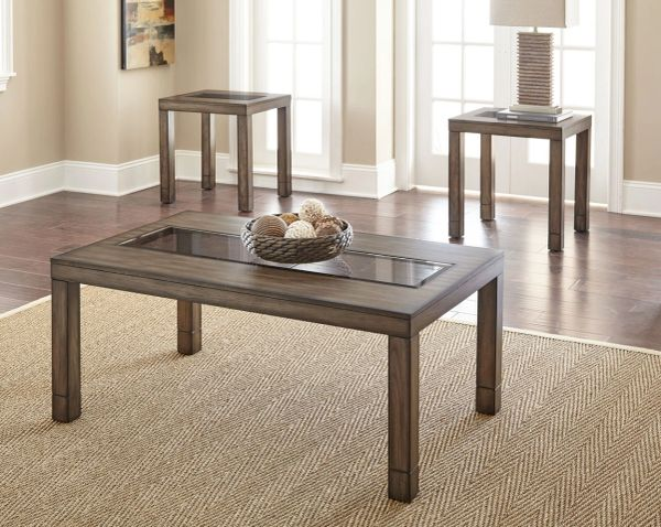Normandy Cocktail Table Set Cocktail Table And Two End Tables La - Cocktail end table sets