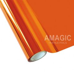 Metallic Heat Transfer Foil - Orange
