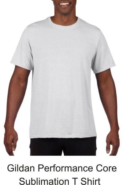 Sublimation Gildan Performance Core T Shirt