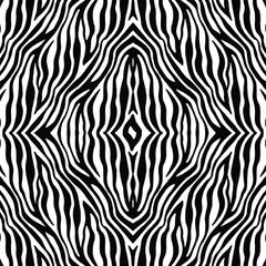 Zebra Pattern Digitally Printed - Choose Color