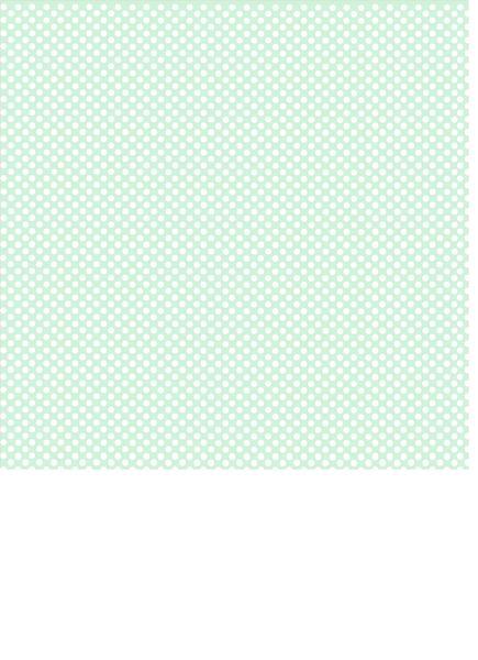 Mint Green Background with White Polka Dot Print