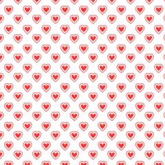 Valentine Pattern Digitally Printed
