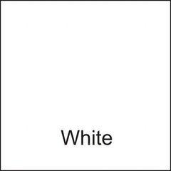 White DuraGloss Intermediate Adhesive Vinyl