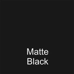 Matte Black DuraGloss Intermediate Adhesive Vinyl