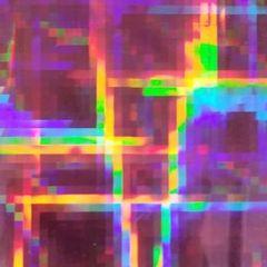 Holographic Plaid Adhesive Vinyl