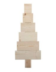 Pallet Christmas Tree - Wood - Unfinished - 14 X 2 Vinyl Craft Blanks