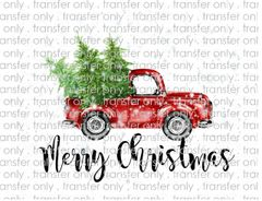 Sublimation Transfer - Christmas