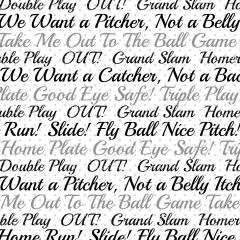 Softball Digitally Printed - Pattern 7