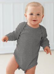 Infant Body Suit - Creeper - Long Sleeve - Heather