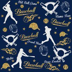 Baseball Digitally Printed - Pattern 15