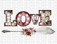 Multi-Surface Transfer - Valentine's Day