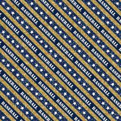 Baseball Digitally Printed - Pattern 19