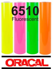 Oracal 6510 Fluorescent Green Adhesive Outdoor Vinyl