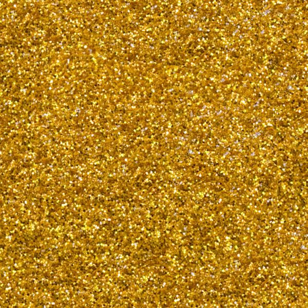GOLD Heat Transfer Vinyl GLITTER Sheets