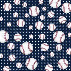 Baseball Digitally Printed - Pattern 14