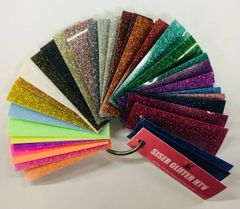 SISER GLITTER Heat Transfer Vinyl Sample Ring