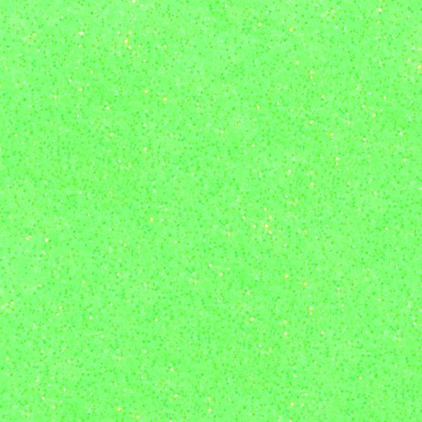 PASTEL (NEON) GREEN Heat Transfer Vinyl GLITTER Sheets