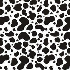Cow Pattern Digitally Printed