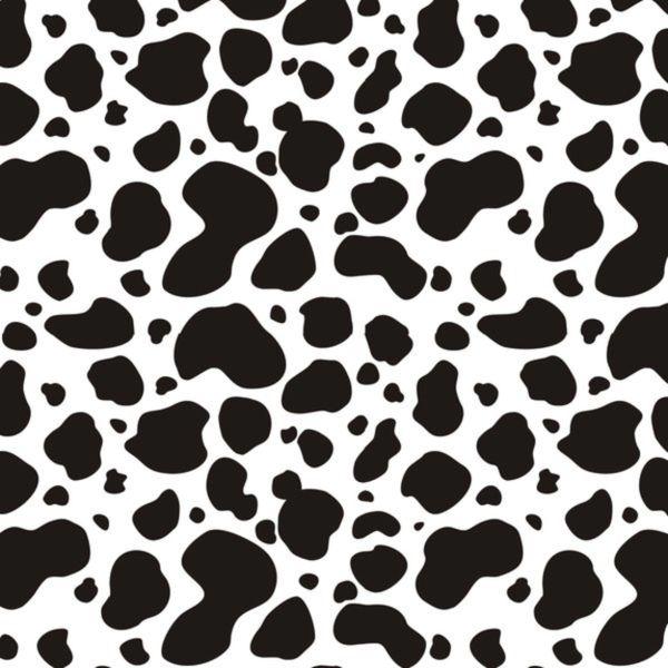 Cow Pattern Digitally Printed