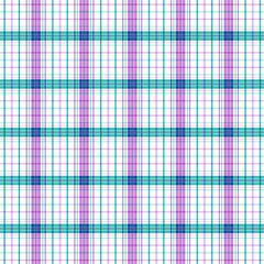 Plaid Digitally Printed Vinyl