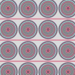 Mandela Pattern Digitally Printed