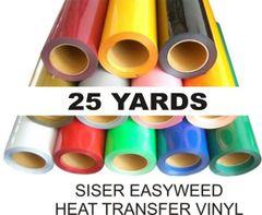 "15"" x 75' roll - SISER EasyWeed Heat Transfer Vinyl"
