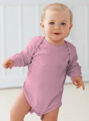 Infant Body Suit - Creeper - Long Sleeve - Pink