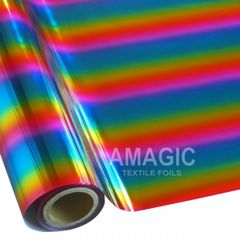 Metallic Heat Transfer Foil - Classic Rainbow